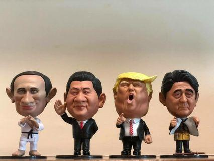 The 4 leaders figures