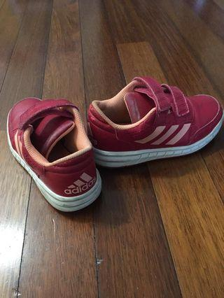 Sport Shoes Girl
