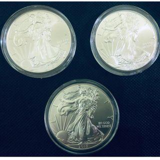Silver 1 oz Coin Set - America Eagle