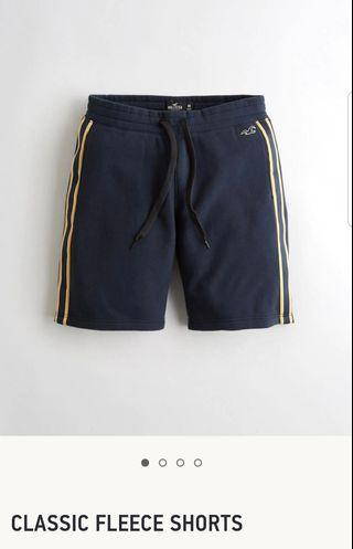 Authentic Hollister Classic Fleece Shorts