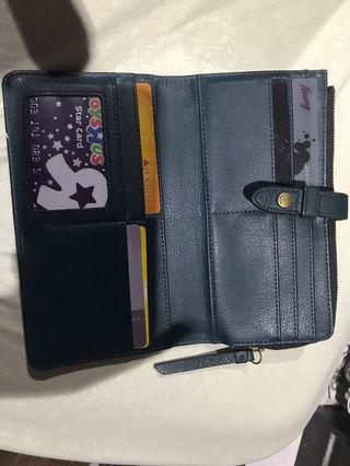 Fossil fiona long wallet
