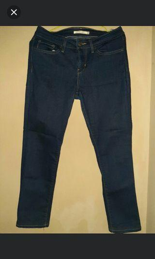 Celana Jeans Levis Original 27 Slim Fit