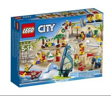 Lego City People Pack - Fun at the beach 60153