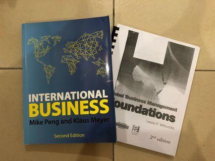 UOL MN1178 Peng & Meyer + Willcocks Textbooks