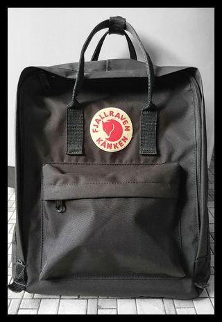 Fjallraven Kanken Black Bag