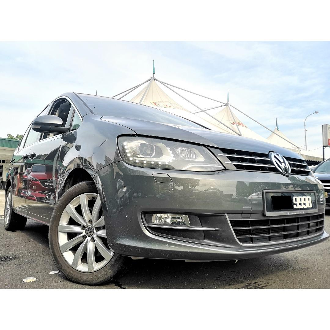2012 Volkswagen Sharan 2.0 TSI Tech Spec MPV (A)[ONE OWNER][TIP-TOP][2 POWER DOOR][PARK ASSIST] 12