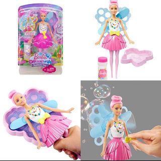 🚚 Mattel  全新專櫃真品美泰兒正版泡泡芭比Barbie original
