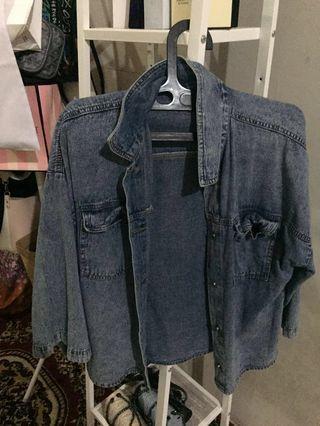 Jaket Blue jeans ( All size )