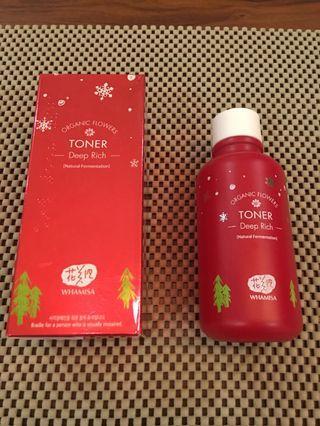 Whamisa Deep Rich Toner (Christmas Edition Bottle)