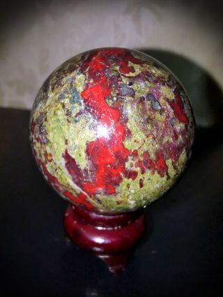 Rare! Dragon blood Crystal ball!