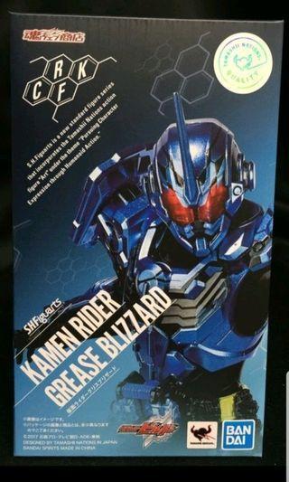 全新 日版 魂 限定 BANDAI 幪面超人 SHF build grease blizzard Kamen Rider 暴雪 冰拳