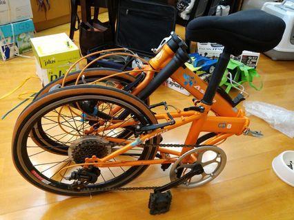 20吋摺合單車