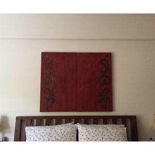 Rustic Living Screens - Wall