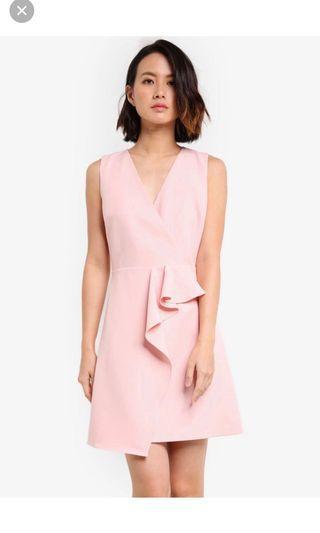 ZALORA Midi dress Pink