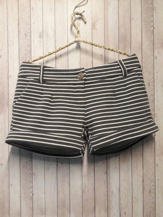 🚚 日本橫條紋短褲 棉質