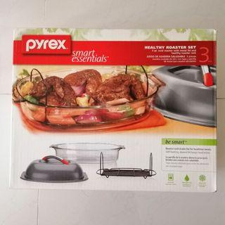 Pyrex 3pc roaster set