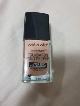 Wet n wild foundation #SwapAU
