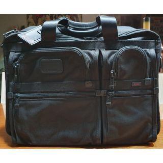 Tumi Alpha 26160DH Large Expandable Organizer Laptop Briefcase