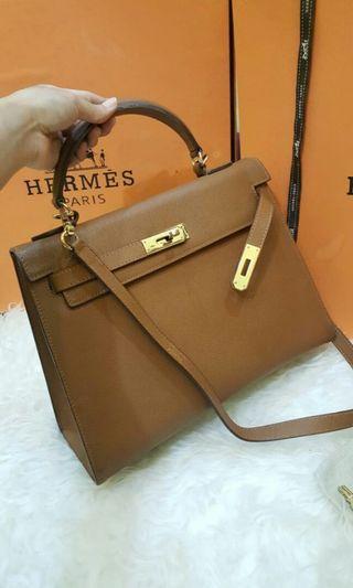 Hermes Kelly 30 mirror quality epsom