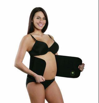 Belly band / wrap - postpartum - black size S