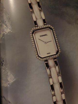 🚚 Rare Gem💖 Chanel Premiere Diamond Watch