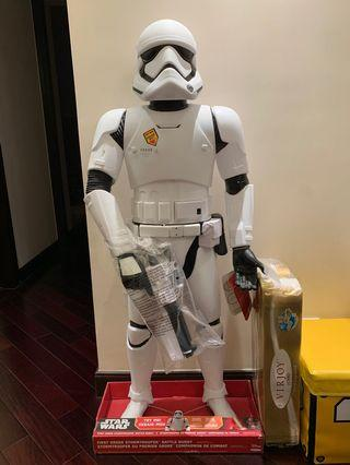Star Wars 星球大戰 First order stormtropper 48 inch 122 cm