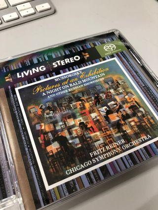 Living Stereo Mussorgsky Picture at an Exhibition SACD