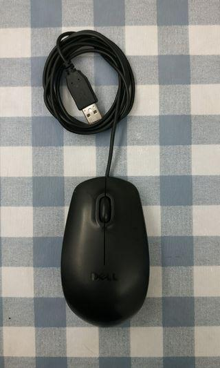 Dell USB 滑鼠 mouse
