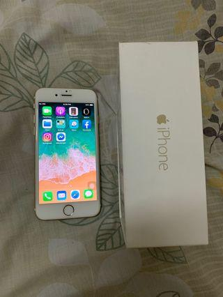 iPhone 6 - Premium Gold Color - 16 GB  (Tip top condition)