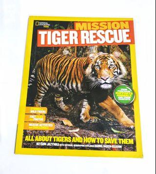 Bhs Inggris: National Geographic Kids: Tiger Rescue