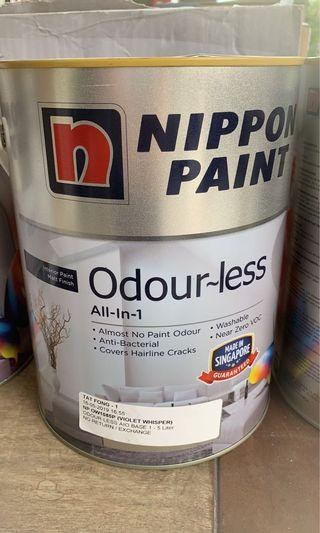 🚚 Nippon Paint All-In-1 Odour-less