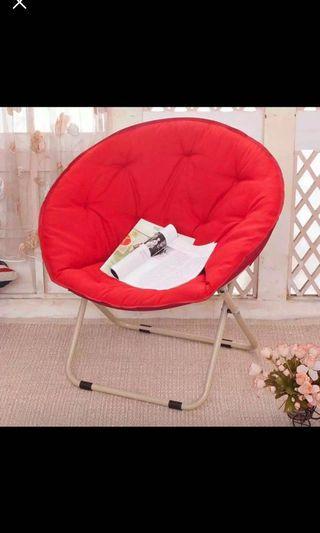 紅色太空椅(月亮椅)9成新
