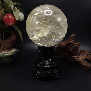 FengShui Decoration Citrine Crystal Ball