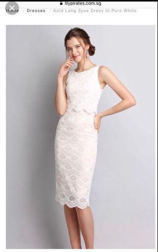BNWT Lilypirates White Lace Dress