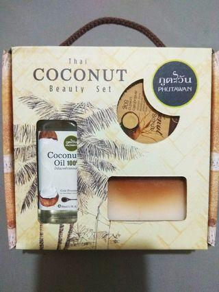PHUTAWAN Thai COCONUT Beauty Set