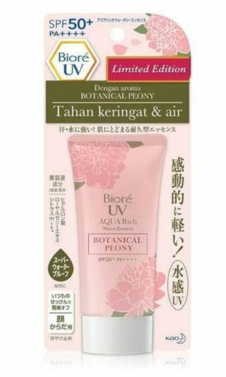 Biore UV Aqua Rich seri Botanical Peony