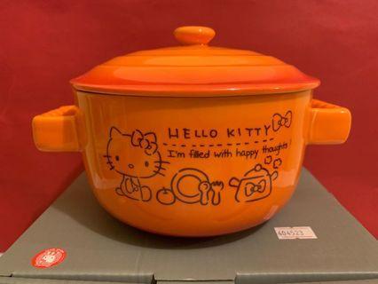 Hello kitty 可放入微波爐湯碗