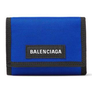 Balenciaga canvas blue wallet pre order