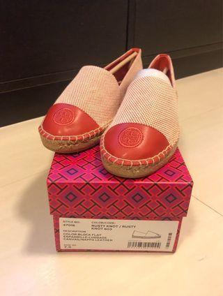 Tory Burch 全新us7.5拼色草鞋