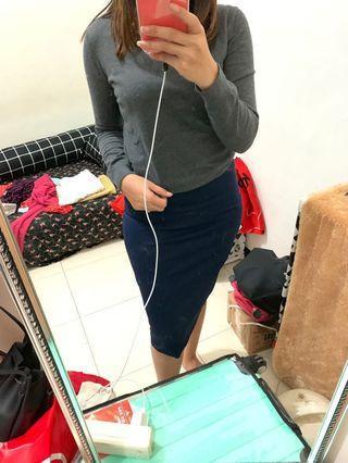 skirt navy