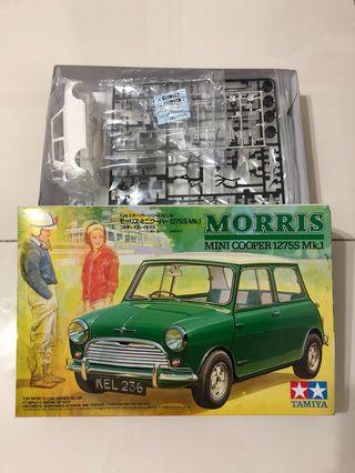 Tamiya Morris Mini Cooper 1275s Mk1 模型全新