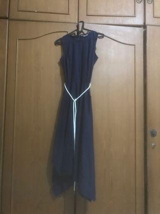 navy long dress et cetera