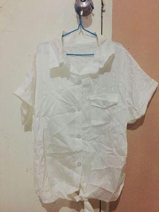 Polo shirt white
