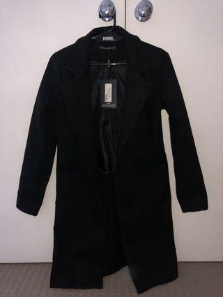 Long Black Coat XS