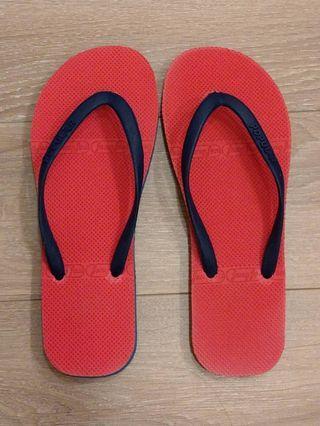 🚚 紅藍夾腳拖/海灘鞋