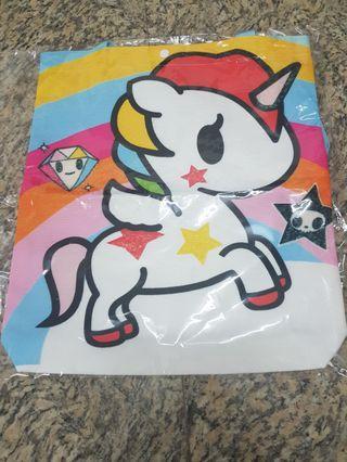 🚚 Unicorn printed bag