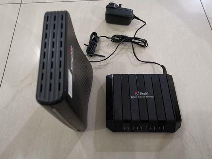 🚚 Singtel Optical Network Terminal
