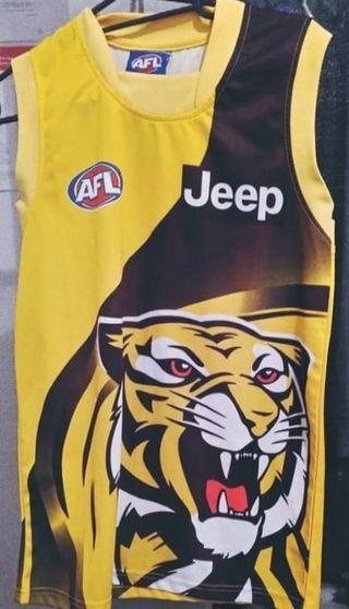 AFL Richmond Tigers top S size