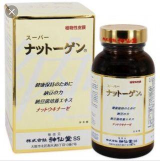 日本神仙堂超級納豆丸330粒大瓶裝