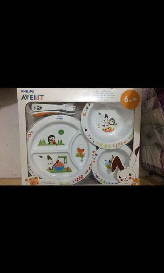 🚚 Philips Avent Toddler Mealtime Set